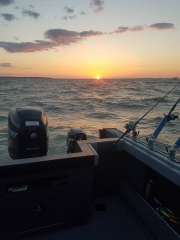 Blue Dolphin Lake Erie Charters - April 2017