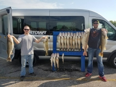 Blue Dolphin Walleye Charters - May 2017