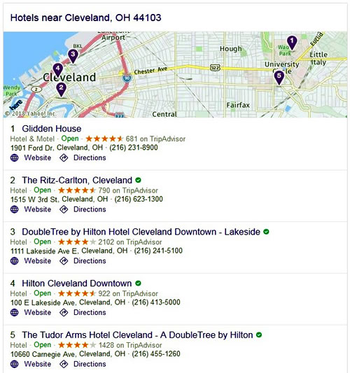Hotels - Cleveland, OH 44103