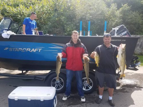 Lake Erie Walleye Fishing - Blue Dolphin Charters