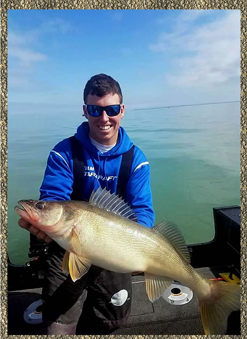 Nicholas Zart - Lake Erie Walleye Fishing Charters