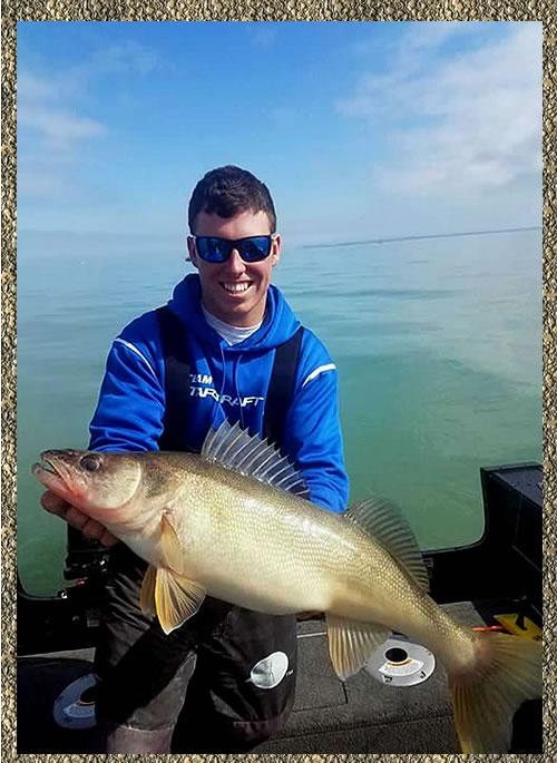 Nicholas Zart - Lake Erie Walleye Fishing Charters