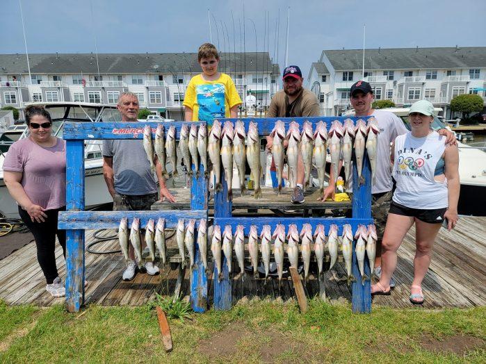 Lake Erie Walleye Report June 20th