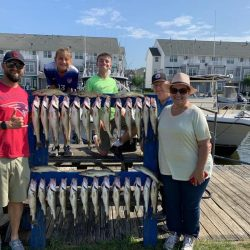 Lake Erie Walleye Charter - July 2019