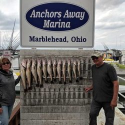Lake Erie Walleye Charters ~ 4/19